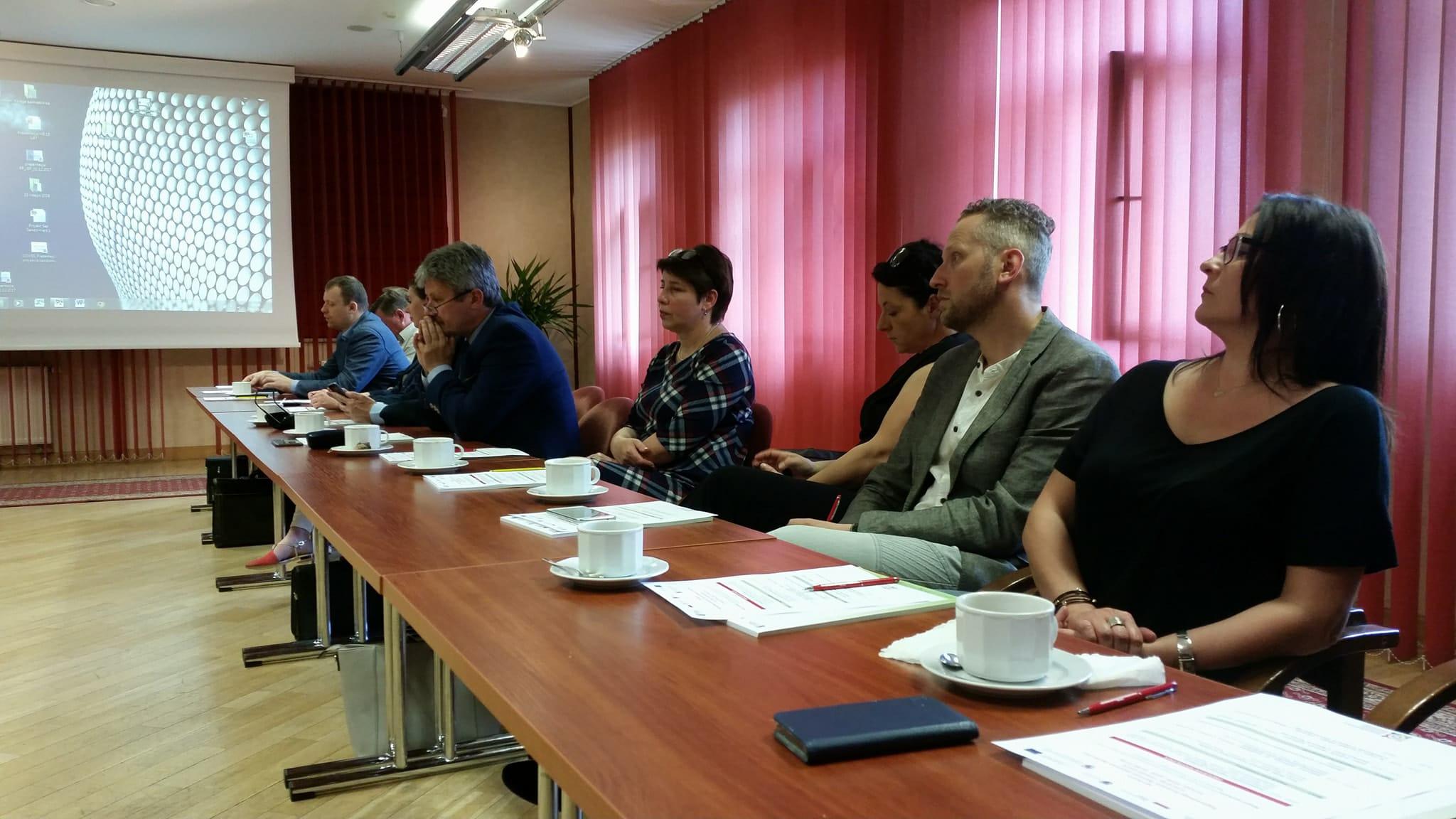 Sandomierz - Spotkanie Regionalnego Komitetu Rozwoju Ekonomii Społecznej orazGrup Tematycznych