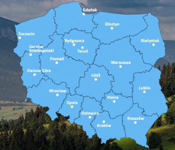 Interaktywna baza przedsiębiorstw społecznych w Polsce
