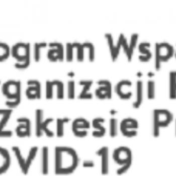 Program Wsparcia Doraźnego Organizacji Pozarządowych – nabór od 12 maja